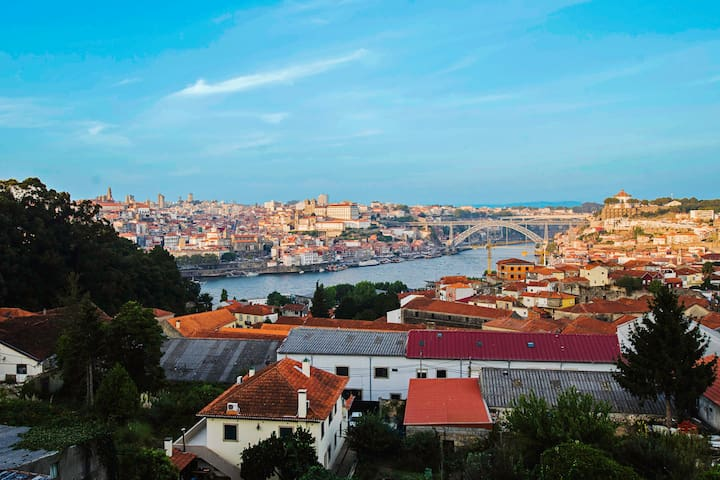Panoramic View of Porto and Douro - Vila Nova de Gaia - Apartament