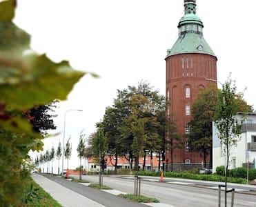 """Gamla Vattentornet """"Nappflaskan"""" - Ystad"""