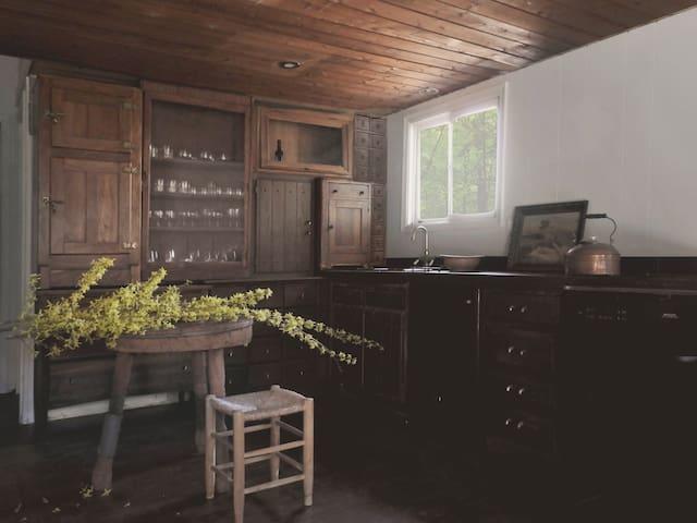 Bushkill House - A Pocono Cabin with Forest Views