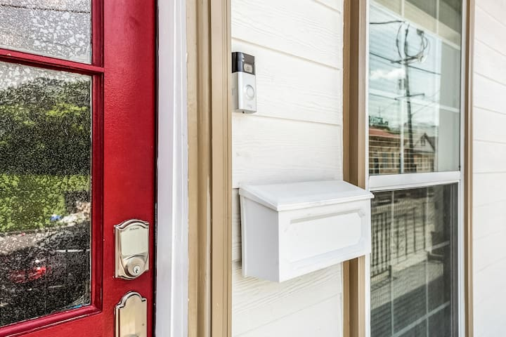 Keyless Schlage entry and Ring Doorbell Camera