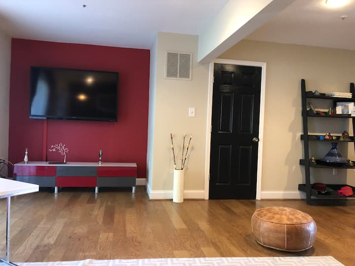 Fully Furnished Private Basement!