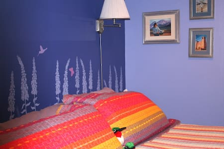 Chocolate Turtle Bed & Breakfast Hummingbird Room - Corrales