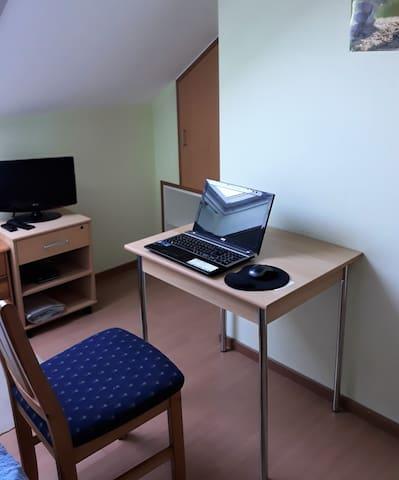 Platz für Home-Office