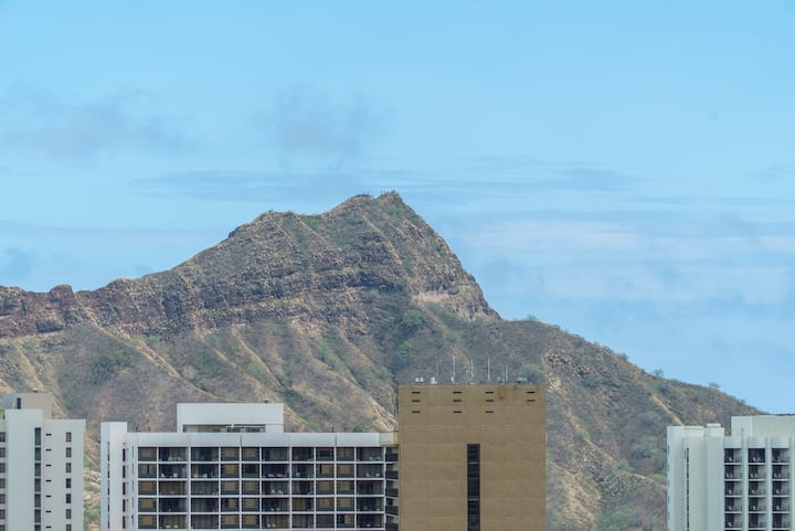 Diamond head and Ocean View!! 39th Floor! (IC05)