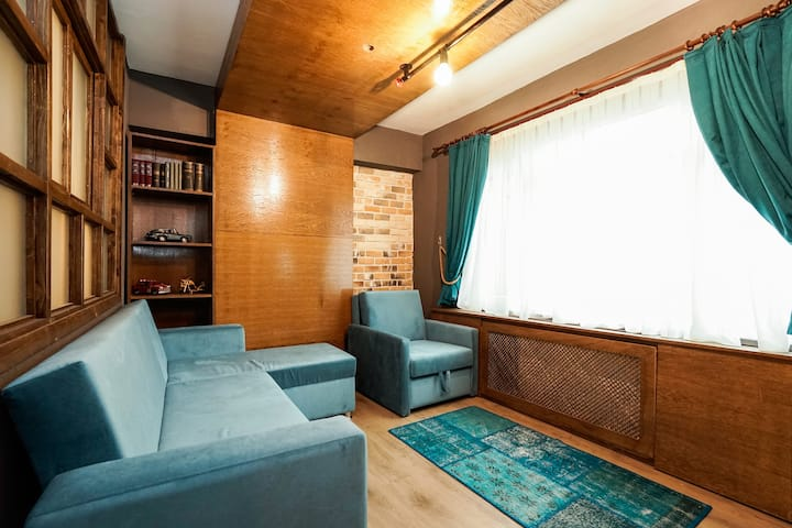 Cozy One Bedroom Flat With Jacuzzi-Dsinfected