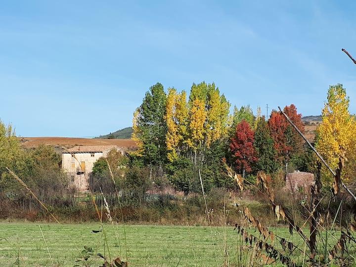 Molino Restaurado Vistas al Río Comarca Albarracin