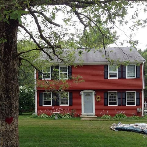 Entire floor w FOUR private bedrooms, full bath - Plymouth - House