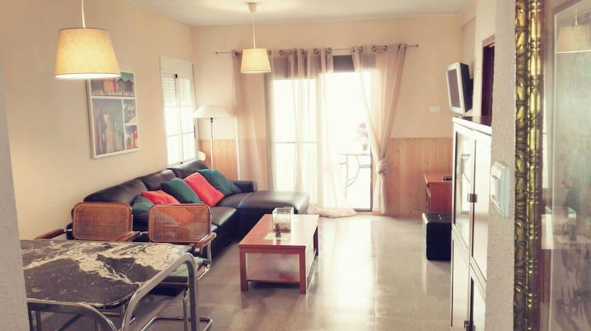 Apartamento junto al mar ideal familias - El Perellonet
