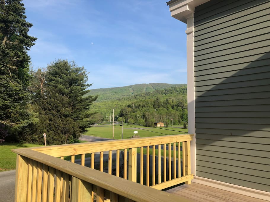 Windham mountain from the deck