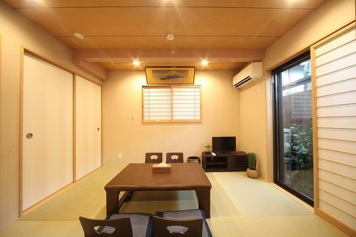 Gion/Spacious/Wifi/Clean&Cozy/Couple or Group/1F - Higashiyama Ward, Kyoto - Wohnung