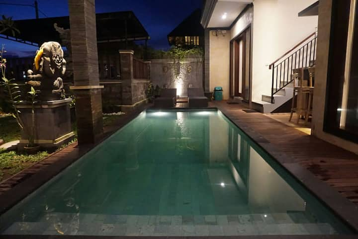 Best Ubud rooms in rice fields, newly built!-King!