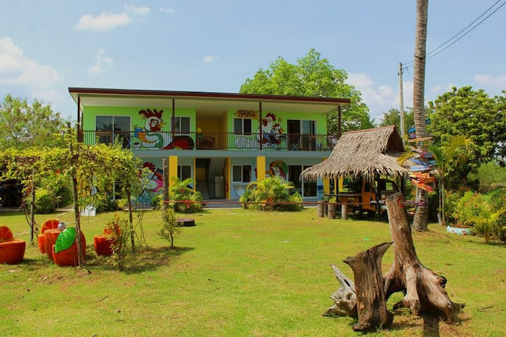 Studio with big terrace at Chill Out village Krabi