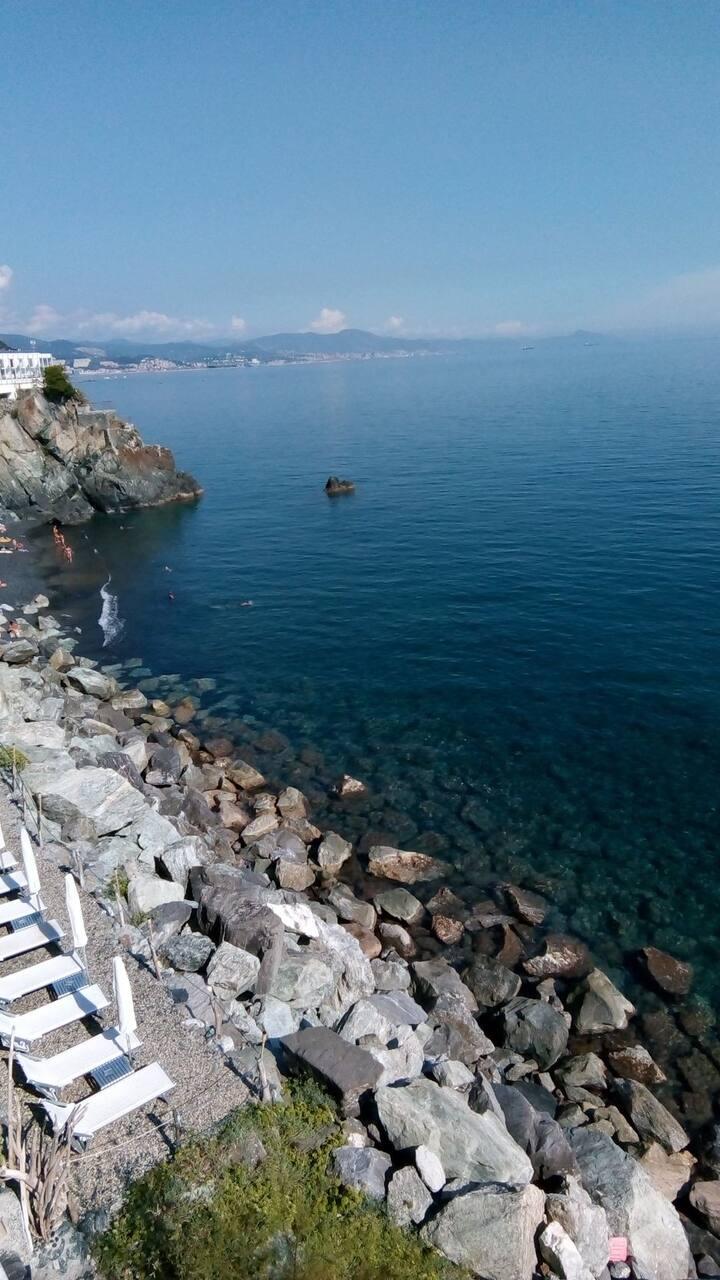 Liguria Riviera dei Fioridi Ponente dal MareLigure