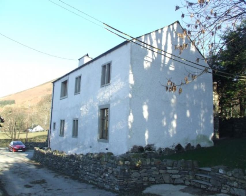 Scales Cottage, External, Lakes Cottage Holidays
