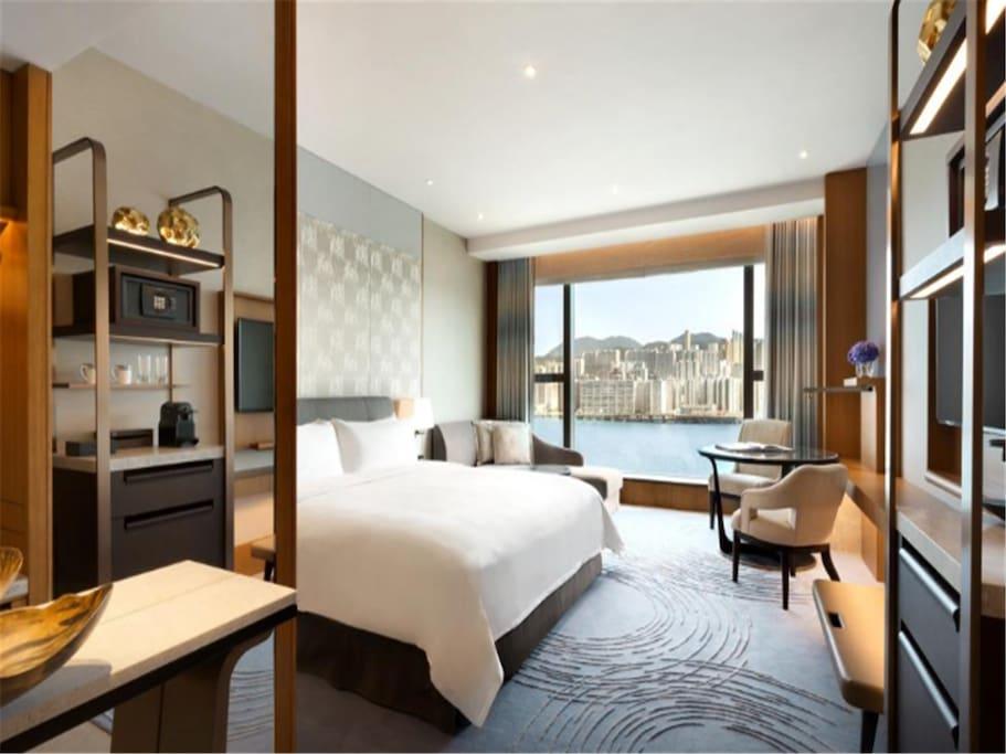 Enjoy luxury room