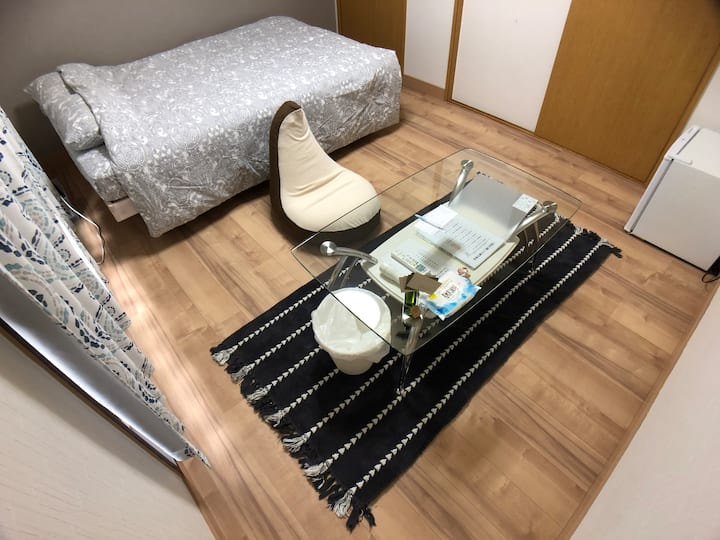 京都駅8分/地下鉄1分 時間貸し・1人暮らし, 同棲体験もOK! SUMUii #201