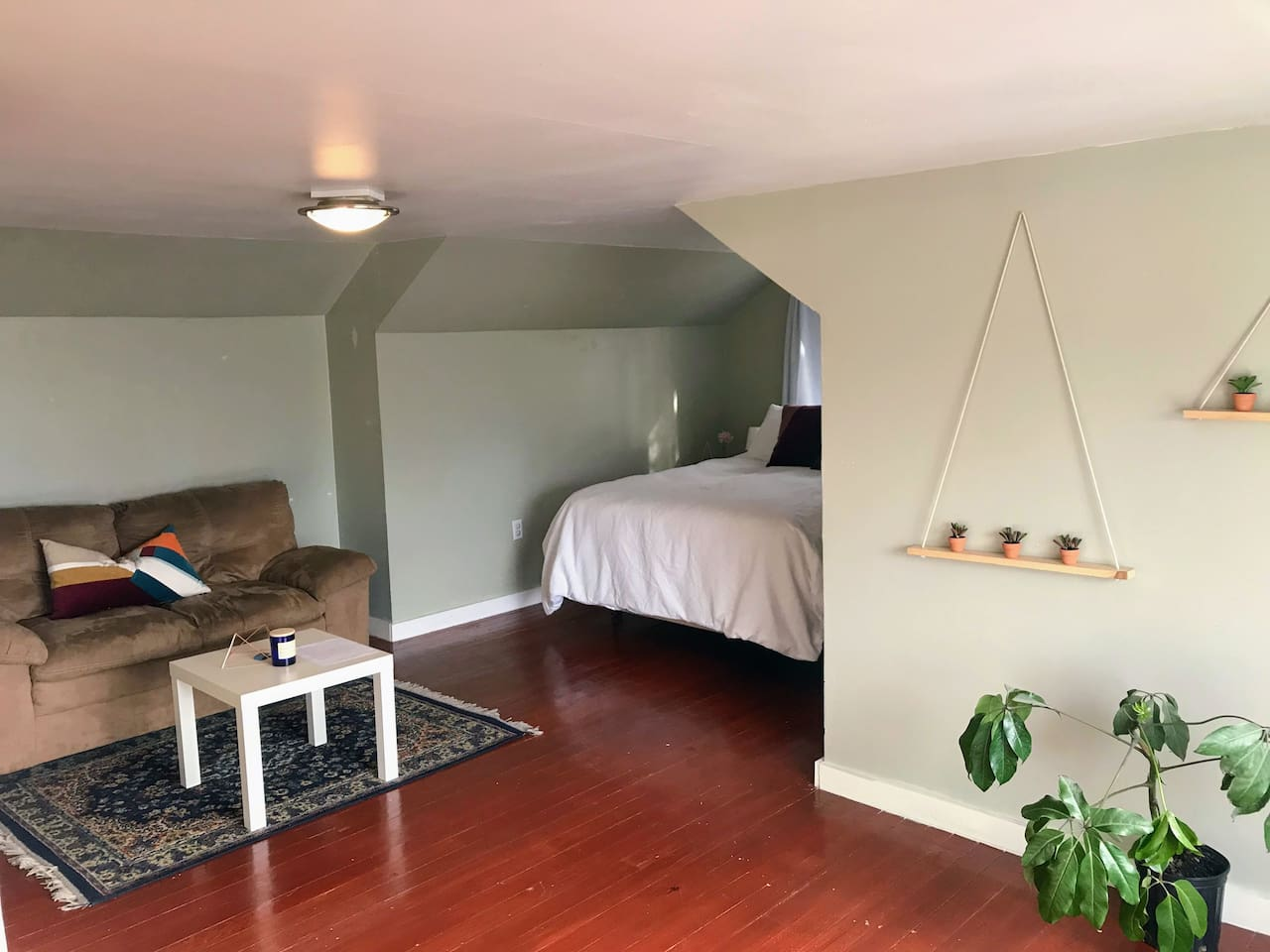 Your private loft space