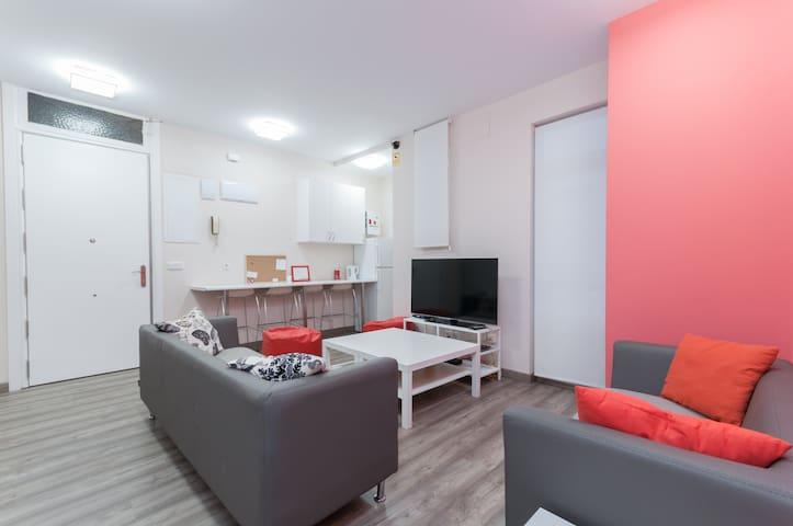 Habitaciones dobles muy limpias y nuevas - Madrid - Rumah