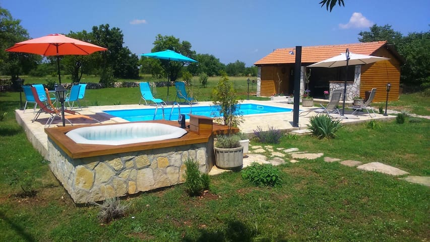 "HOLIDAY HOUSEKRKA""  pool&whirpool&sauna&wellnes"