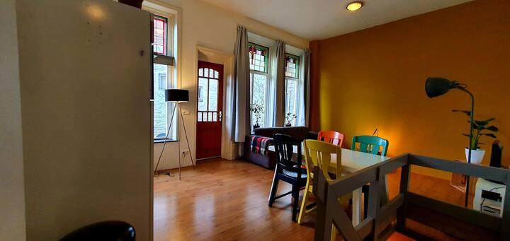 Sfeervol appartement op heerlijke plek!