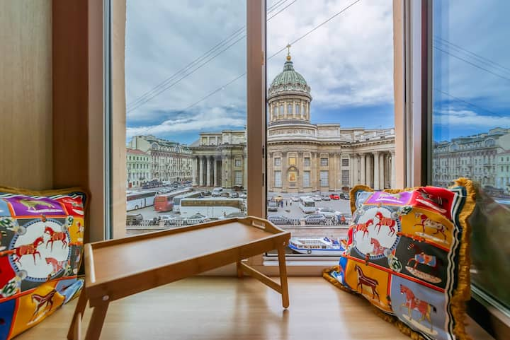 Swan Lake Room, Kazan Cathedral View