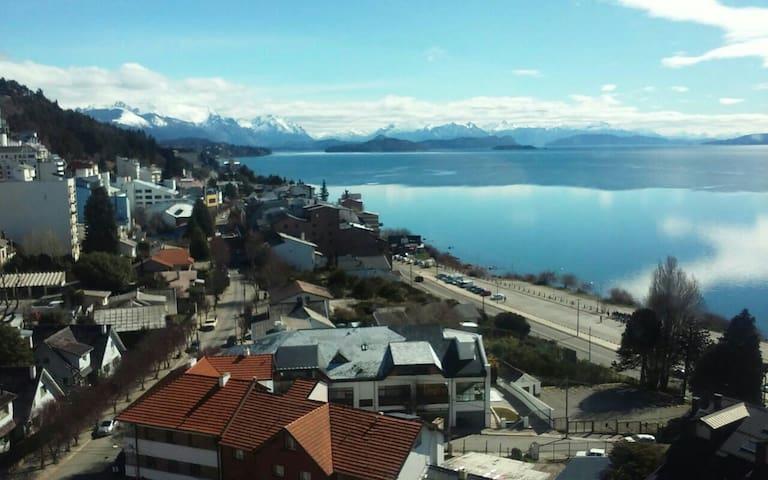 Depto, centrico, hermosa vista - San Carlos de Bariloche - Apartemen
