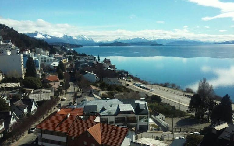Depto, centrico, hermosa vista - San Carlos de Bariloche - Apartment