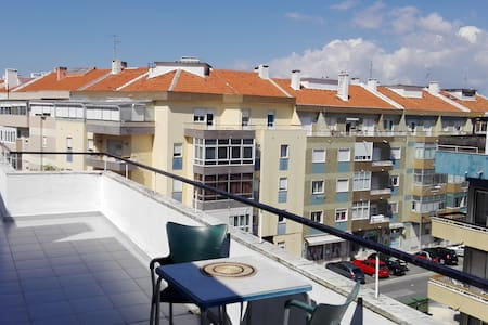 Rooftop ap. with amazing terrace - Linda-a-Velha - Apartment - 2