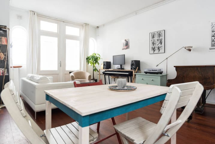 Love apartment with garden city centre