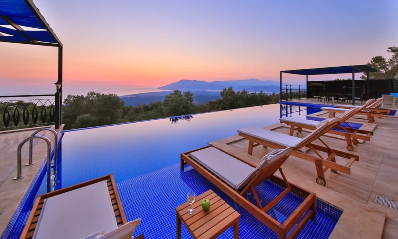 AirBnB in Turkey, Patara: Luxury, infinity pool, and views!