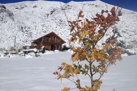 La Araucaria- Cabaña Andina - Potrerillos - 小木屋