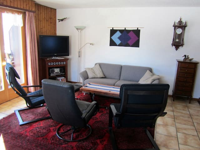 Beautiful mountain appartment - Champéry - Apartmen