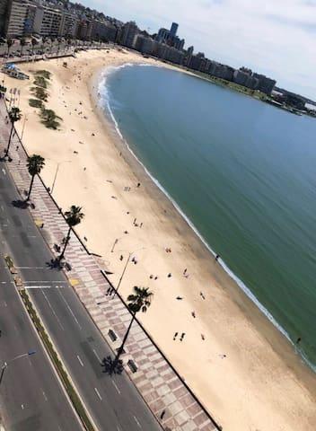 Monoambiente frente al mar