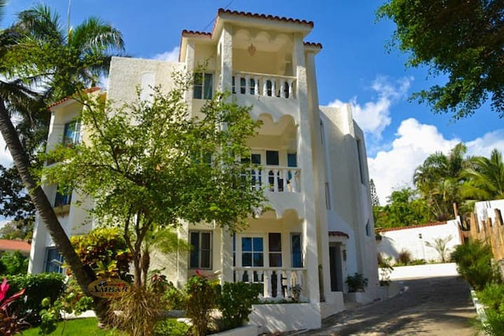 Elegant 2BR 2BTH, w/Pool, steps from beach - Cofresi - Apartment