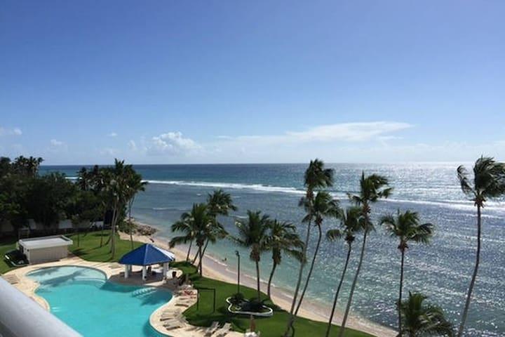 BEACH FRONT APARTMENT - Playa Juan Dolio - Wohnung