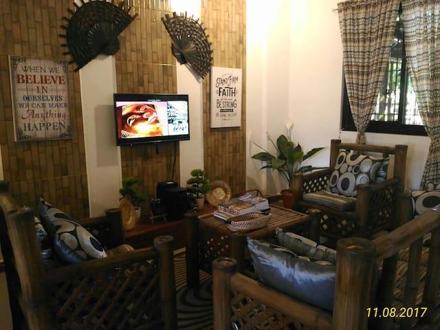 A Filipino Rustic Style Duplex in Cavite (UNIT 1)