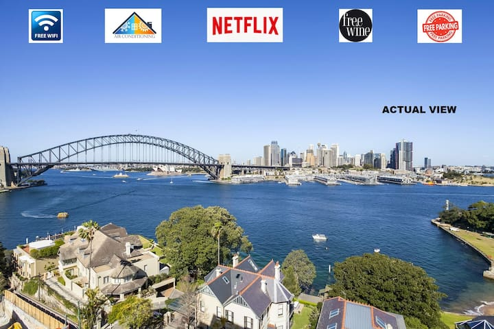 🌟Harbour Views🌟Opera House Views🌟WiFi🌟🅿️🌟Nextfix🌟🍷🌟