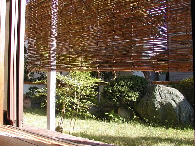 Enjoy traditional Japanese garden.