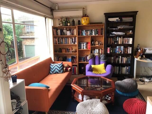 Sunny colourful Lane Cove apartment