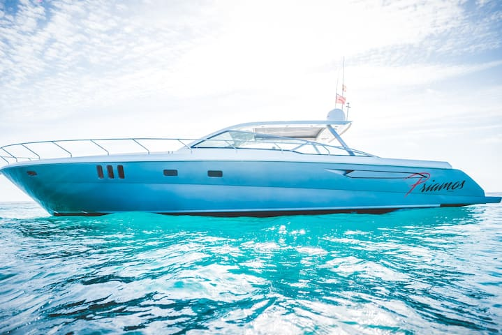 Priamos Yacht 24 hour stay,charter service incl.