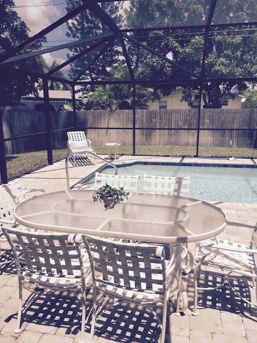 Private Pool with Deck/lanai and gas grill