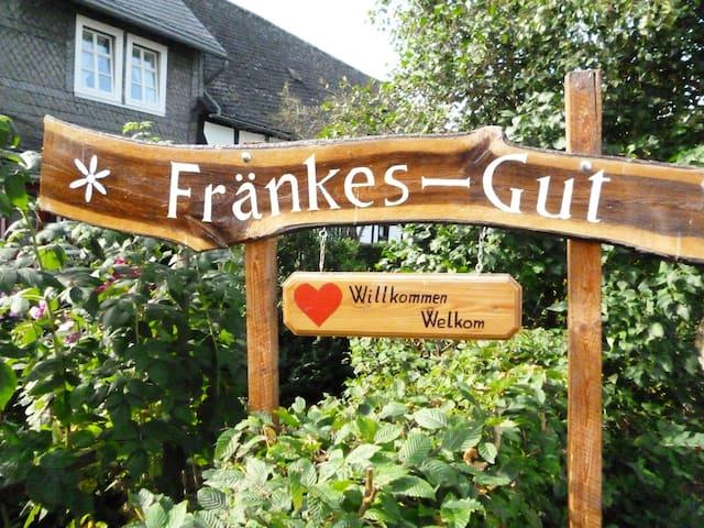 """Fränkes-Gut""  in Oberschledorn - Medebach - Huoneisto"
