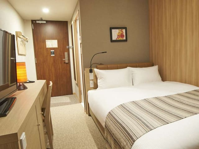 A revitalizing stay in Tokyo ! Non-smorking double room
