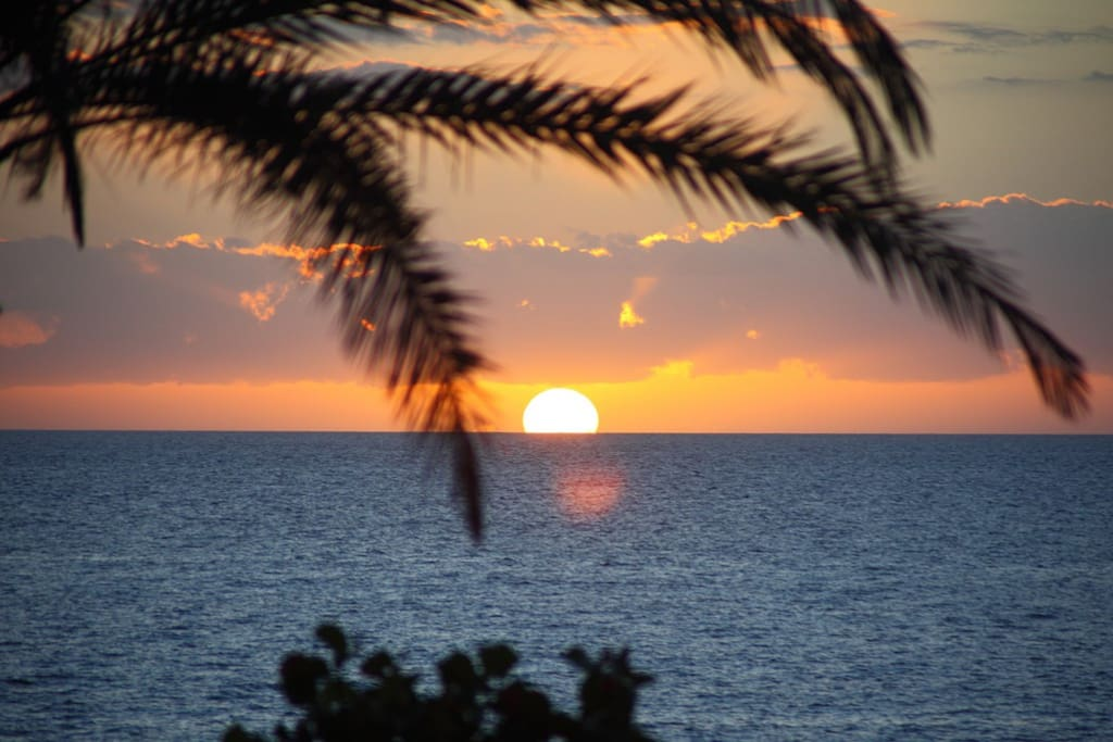Sunset playa