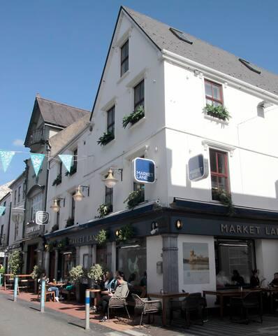 One of my favourite restaurants in Cork, The Market Lane.