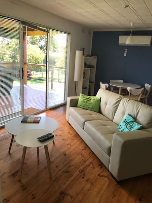 Newly furnished living areas