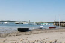 Slip around the corner and you'll find a working fishing village.  This a short 3 minute drive, or a 10 minute walk from the cottage.