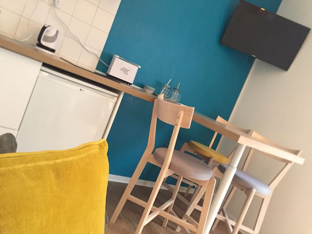 Cocon Azur / Centre Metz, proche Gare & Pompidou