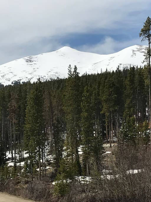 Ski area views