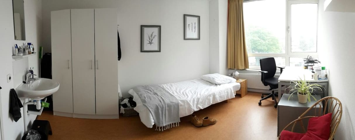 Nice room near Wageningen City Center - Wageningen - Apartamento